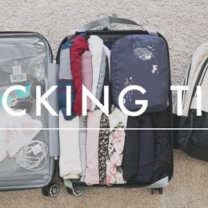 Travel Packing Tips | How to Pack a Carry-On + Packing Checklist Download
