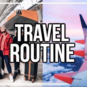 MY TRAVEL ROUTINE + FLIGHT GIVEAWAY! Packing Hacks, Flying Tips + more! | Morgan Yates