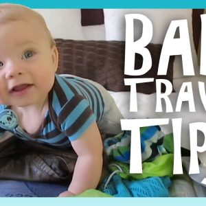 BABY TRAVEL TIPS! | Look Who's Vlogging: Daily Bumps (Episode 6)
