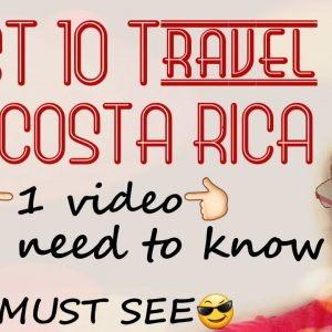 BEST #Costa #Rica Travel Tips to know for a #vacation of a life time.   Holiday trip in Exotic CR