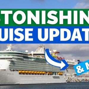 CRUISE NEWS UPDATE: Cruise Line Suspensions, Carnival Ship Back in Miami, Astonishing Figures & MORE