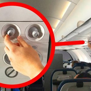 Open Your Air Vent on a Plane and 8 Useful Travel Tips