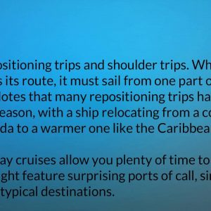 Find Tips For Cruises part 1