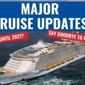 MORE CRUISES CANCELLED | NO MORE MUSTER DRILLS!