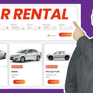 How to Make a Car Rental Website with WordPress – Rental Booking Website 2021