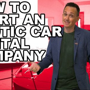 How To Start An Exotic Rental Company