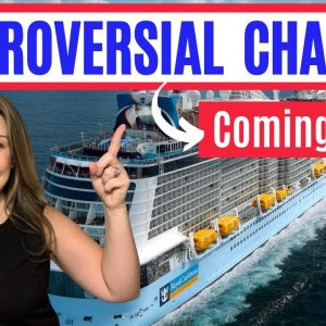 10 MAJOR CHANGES TO CRUISES (New Protocols Updated) / What will cruising be like in 2021 & beyond?