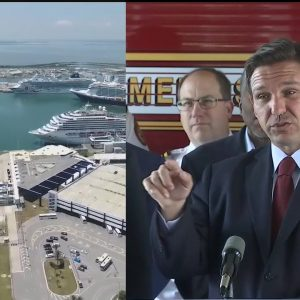 Florida governor says cruises should resume right away